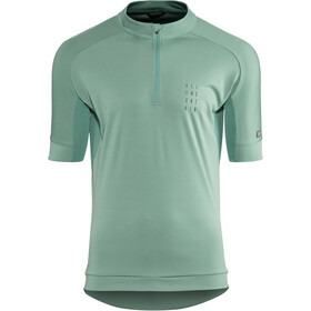 Cube AM Jersey shortarm Herr dark mint